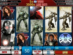 Iron Man 2 - Playtech