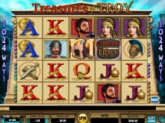 Treasures of Troy slot oyunları slotoyunlari77.com IGT Interactive 1/5