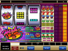 High Five slot oyunları slotoyunlari77.com Microgaming 1/5