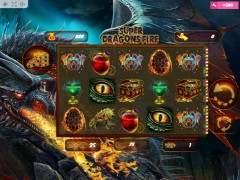 Super Dragons Fire slot oyunları slotoyunlari77.com MrSlotty 1/5